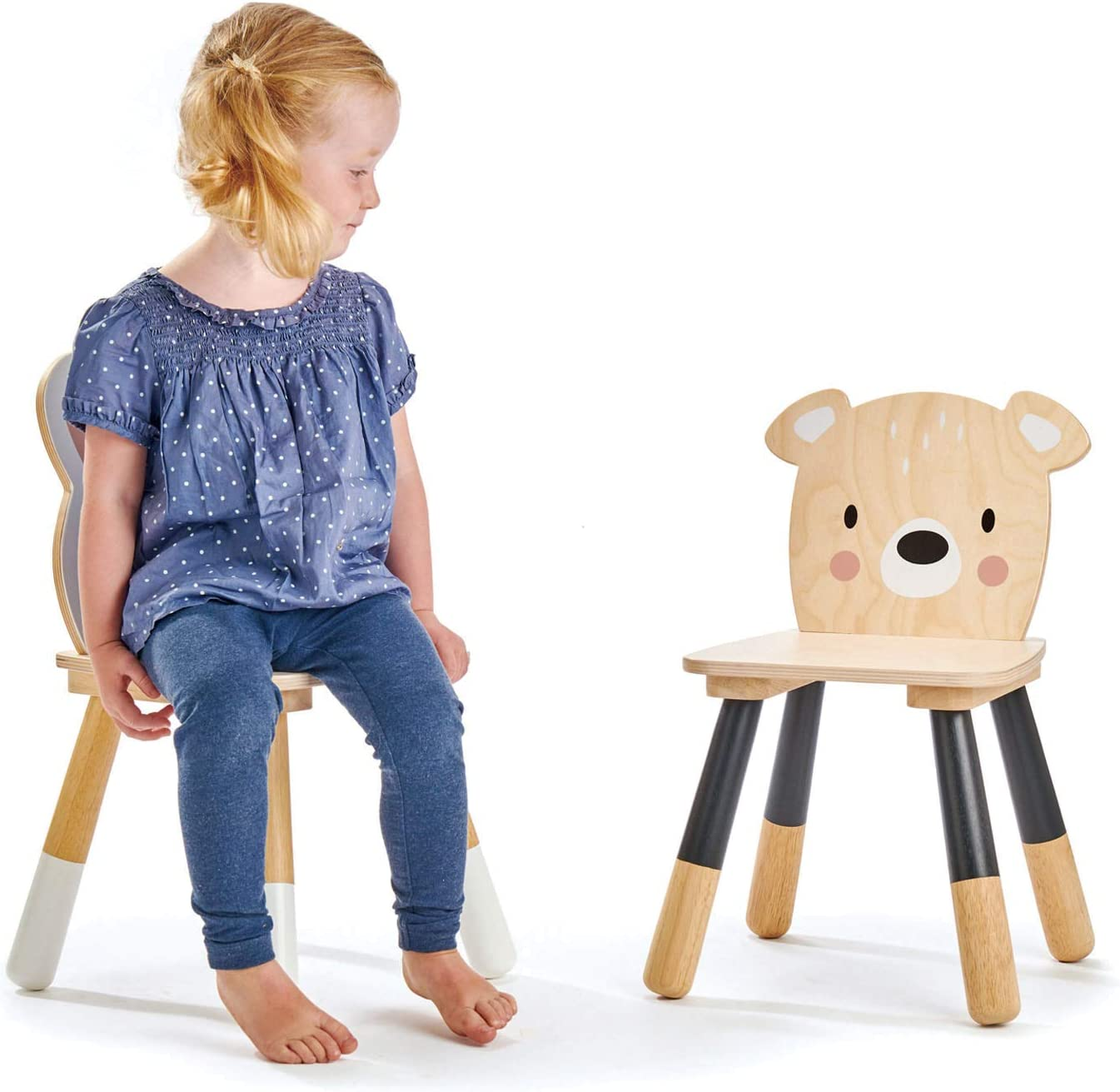 Tender Leaf Toys Forest Bear Chair