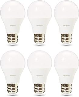 AmazonBasics Professional - Bombilla de tipo Edison LED, casquillo E27, equivalente a 75 W