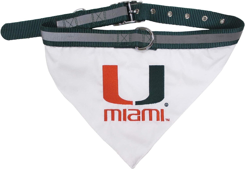 Pets First Miami Hurricanes Collar Bandana