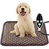 ペット用 ホットカーペット ペットヒーター 猫 犬用 猫マット 犬マット ホットマットヒーター 小動物対応 防寒用具 寒さ対策 タイマー 3段階温度調節 タイミング機能 過熱保護 サイズ45*45cm