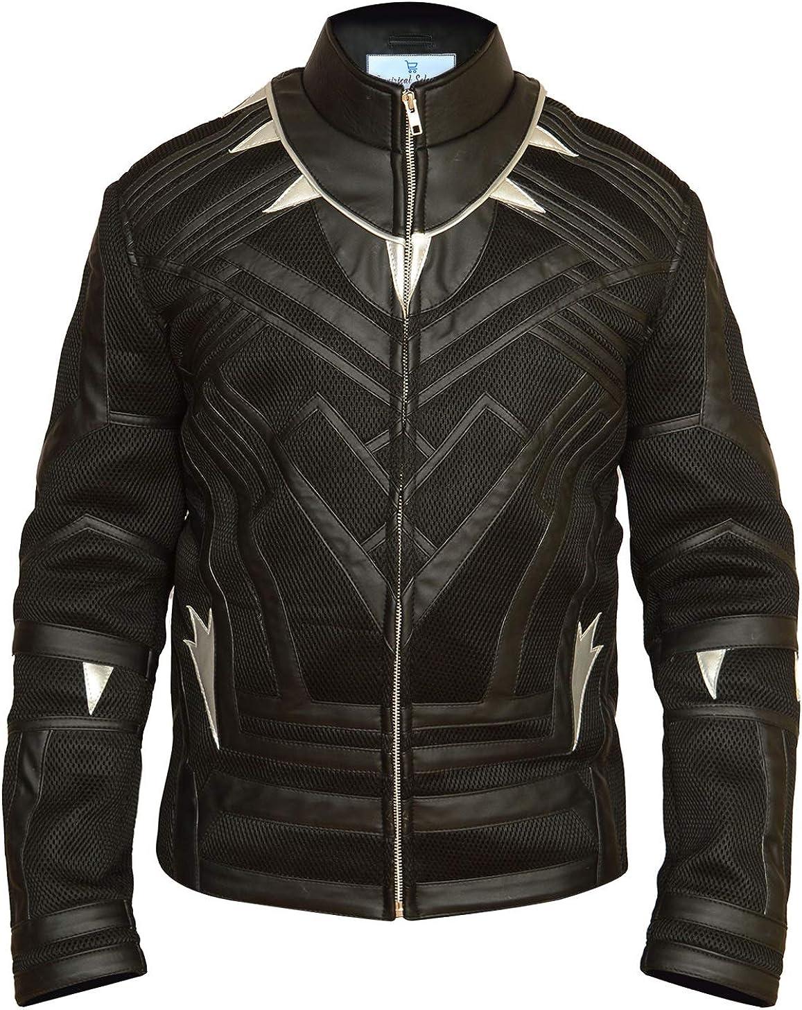 Empirical Selection Faux Leather Jackets Men Men/'s Faux Leather Jacket