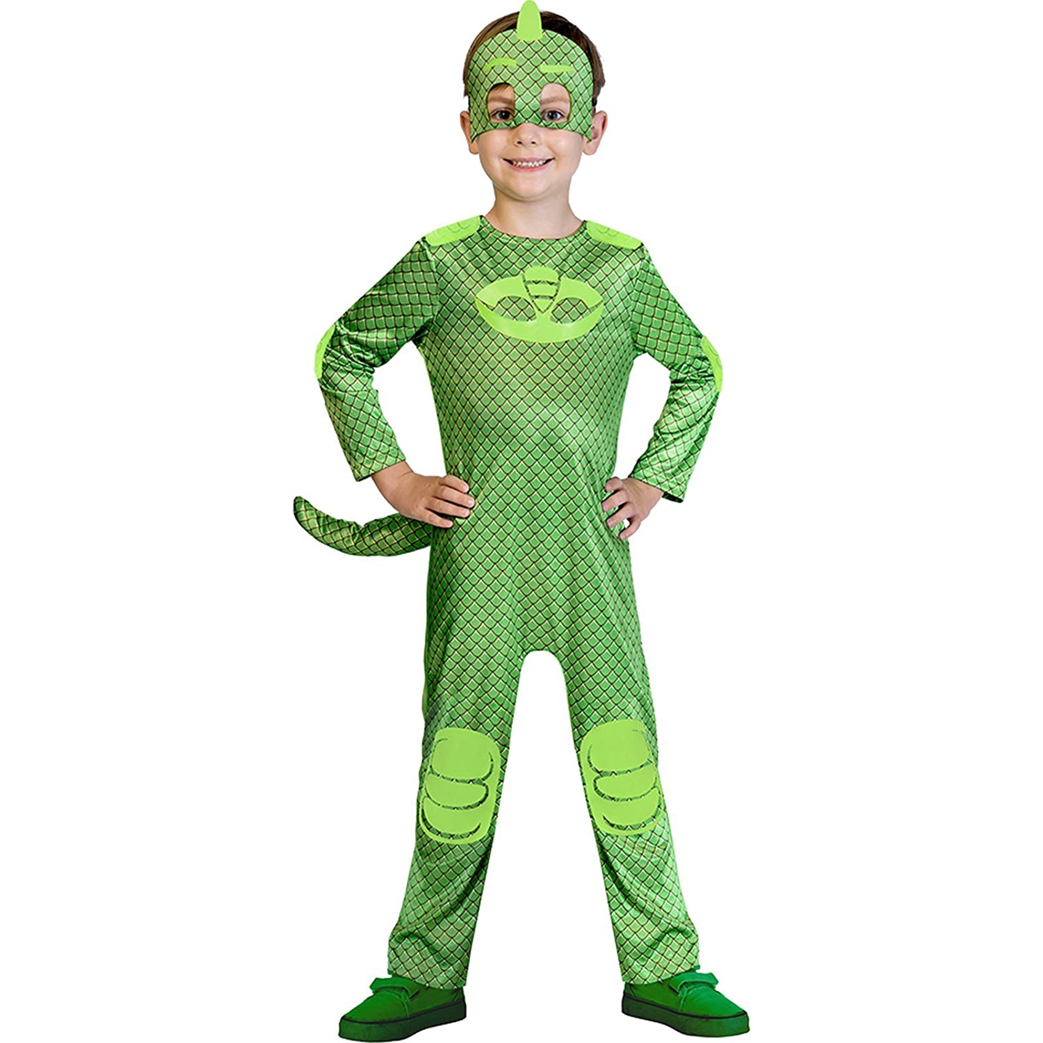 Childrens Size PJ Masks Gekko Costume Toddler (2-3 years): Amazon.es: Juguetes y juegos