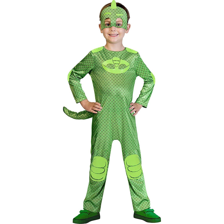Childrens Size PJ Masks Gekko Costume Toddler (2-3 years): Amazon.es: Juguetes y juegos