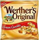 Werther's Original Cream Candies Bag, Irresistible Cream and Caramel Flavours, 140 g
