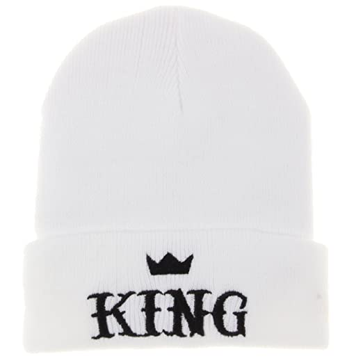Amazon.com  King Winter Knit Beanie Hat Men Women Winter Cap Skully ... e1e3d349109