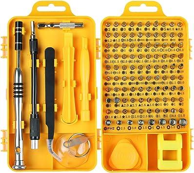 115 in 1 Electric Precision Screwdriver Kit Fit Computer Pc Phone Repair Tool RP