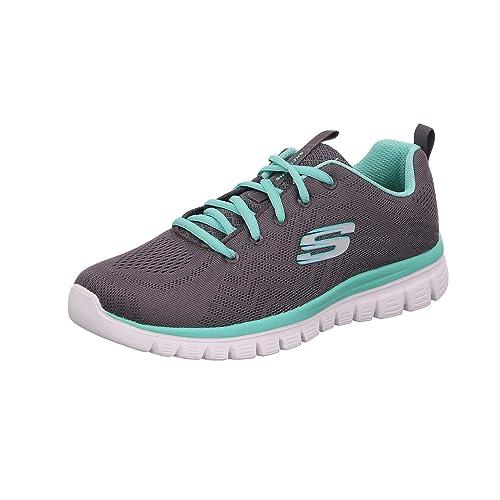 Haciendo Mancha Cusco  Buy Skechers Women's Graceful-get Connected Sneakers at Amazon.in