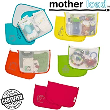 d4fdd2dc48 Diaper Bag Organizer Pouches by MOTHER LOAD - Designed for The On-The-Go