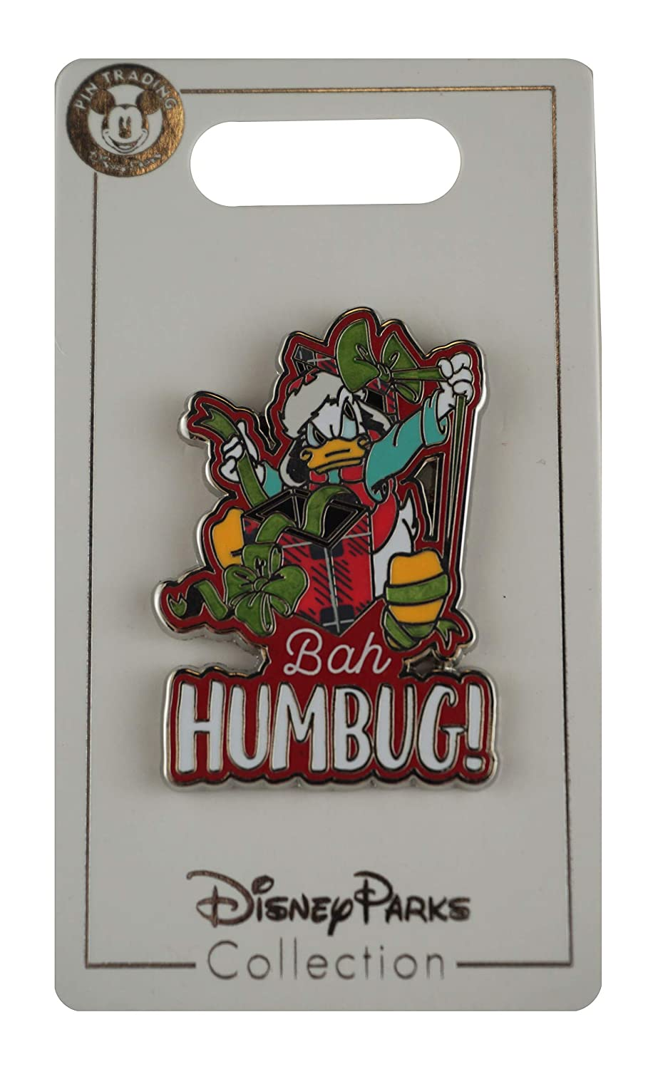Disney Pin - Holiday - Donald Duck Bah Humbug