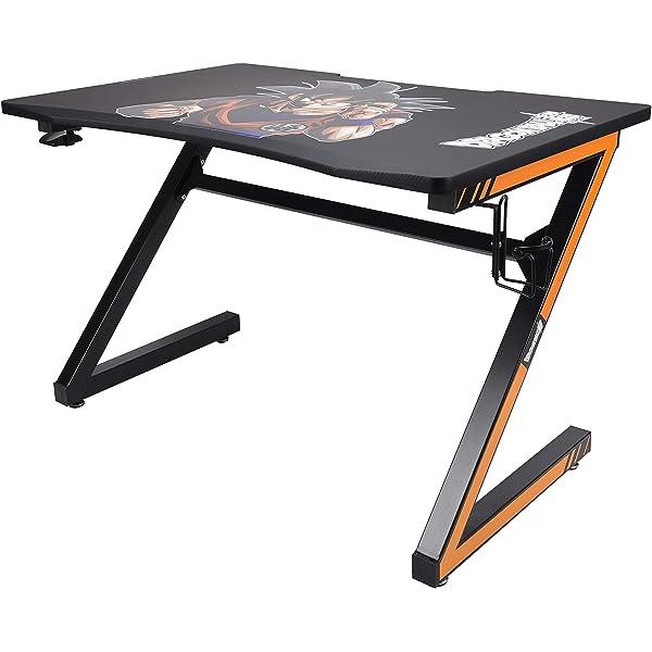 Subsonic - Escritorio / mesa de juego con acabado en carbono, con ...