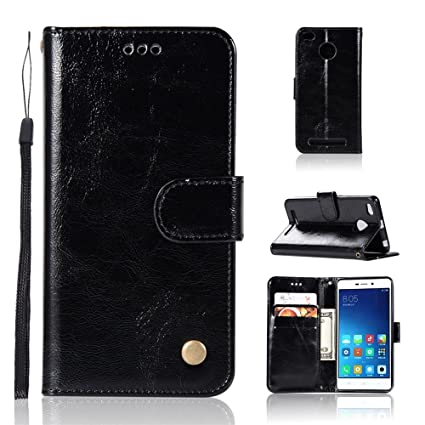 online store 895dd 86c42 Amazon.com: TOTOOSE Xiaomi Redmi 3S - Cover Closure Wallet Style ...