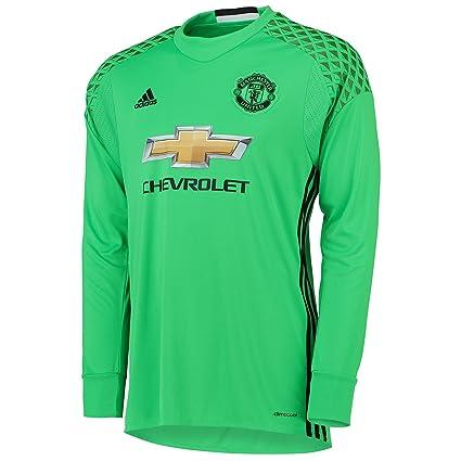 fe79ee0cc00 adidas Manchester United Kids Away Goalkeeper Shirt 2016-17-7-8 Years