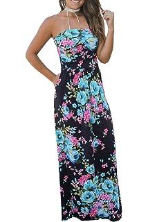 Riviera Sun Strapless Tube Maxi Dress Summer Dresses  Amazon.ca ... e880494c0