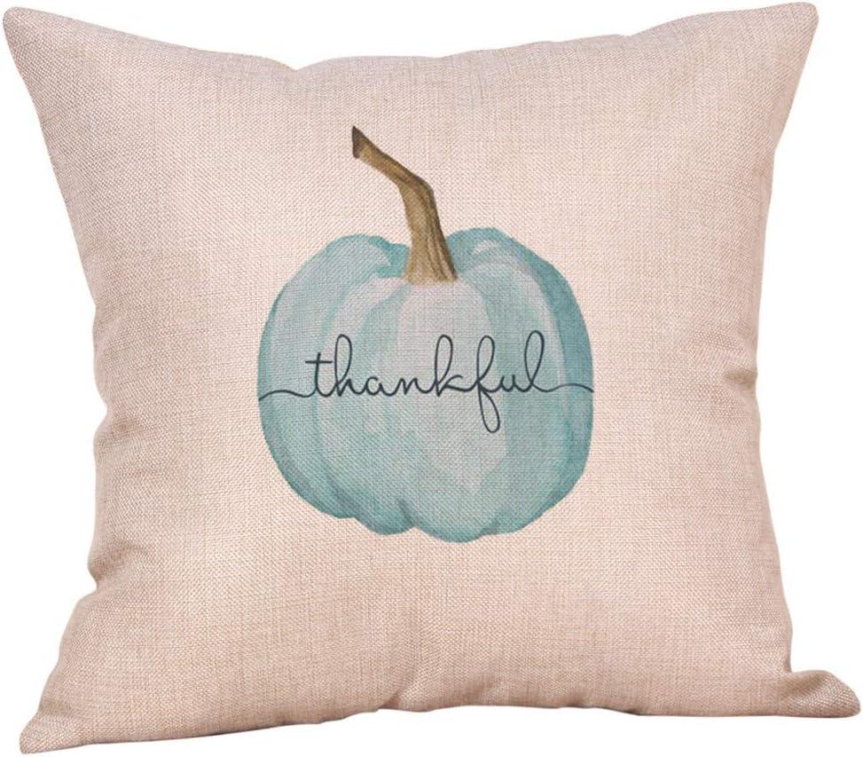 AKAIDE Pillowcase Halloween Pumpkin Throw Pink Pillow Cover Pillowcases Decorative Sofa Cushion Cover Home Decor