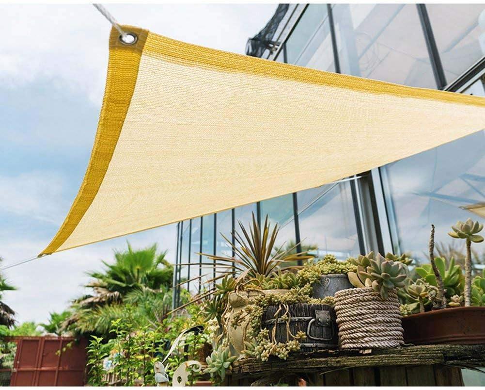 Toldo Protector Solar Balcón Sombra del Techo Red Sol Al Aire Libre Sol Sombra Sombrilla De Malla Transpirable Techo Cifrado 3M * 3M,Beige,1M*1M: Amazon.es: Hogar