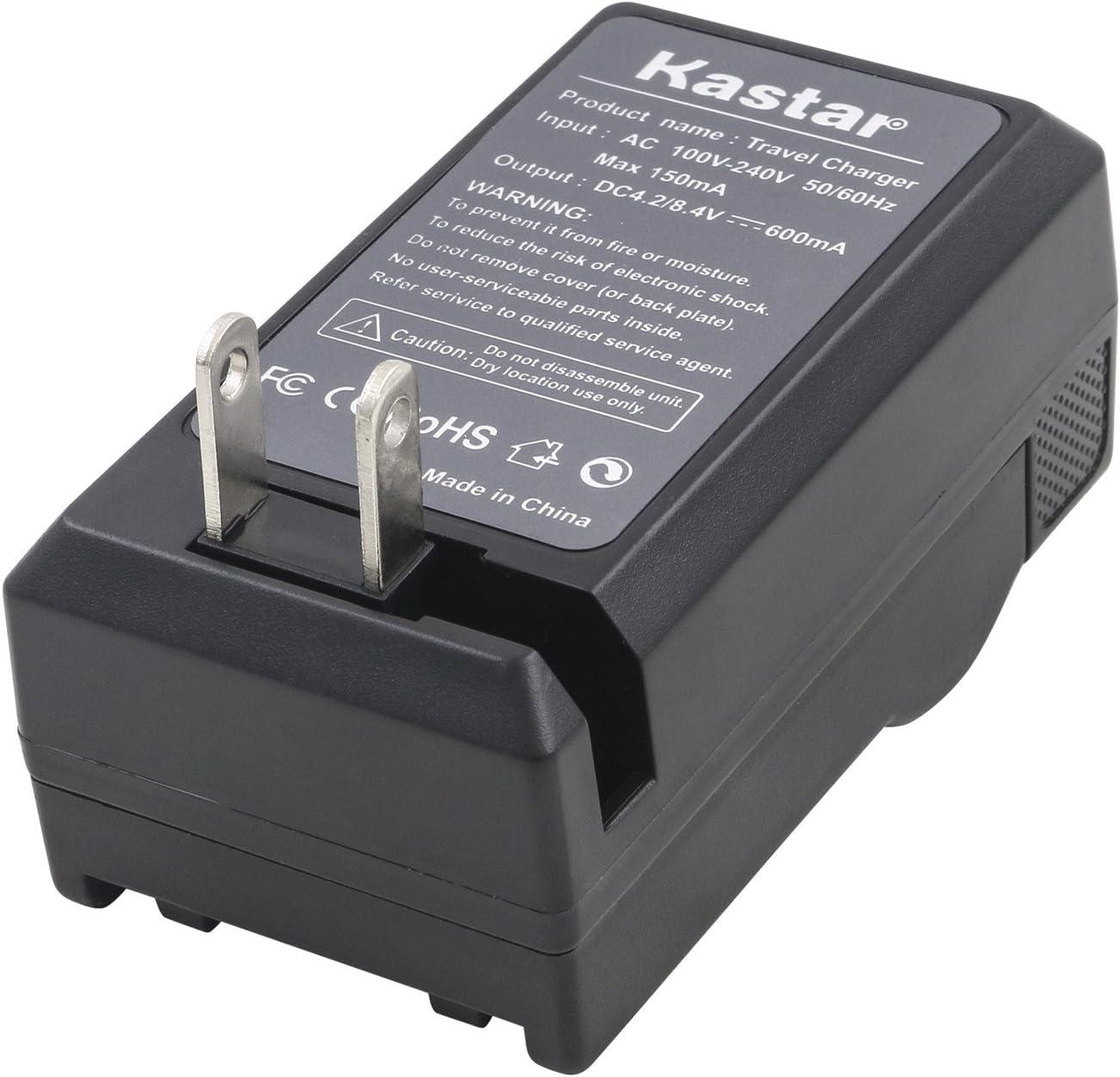 Kastar Travel Charger for JVC SSL-JVC50 and JVC GY-HMQ10 GY-HM200 GY-HM600 GY-HM600E GY-LS300 GY-HM600EC GY-HM650 Camcorders