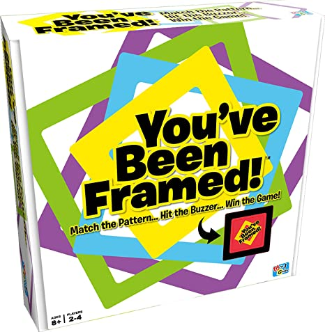 Amazon.com: Getta1Games You\'Ve Been Framed Board Games: Toys & Games