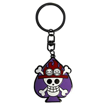 ABYstyle abykey148 - One Piece Llavero Calavera Ace: Amazon ...