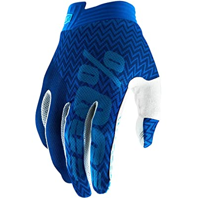 100% 2020 iTrack Gloves (Small) (Blue/Navy): Automotive [5Bkhe0909418]