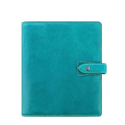 Amazon.com : Filofax Malden Kingfisher Blue A5 Organizer ...