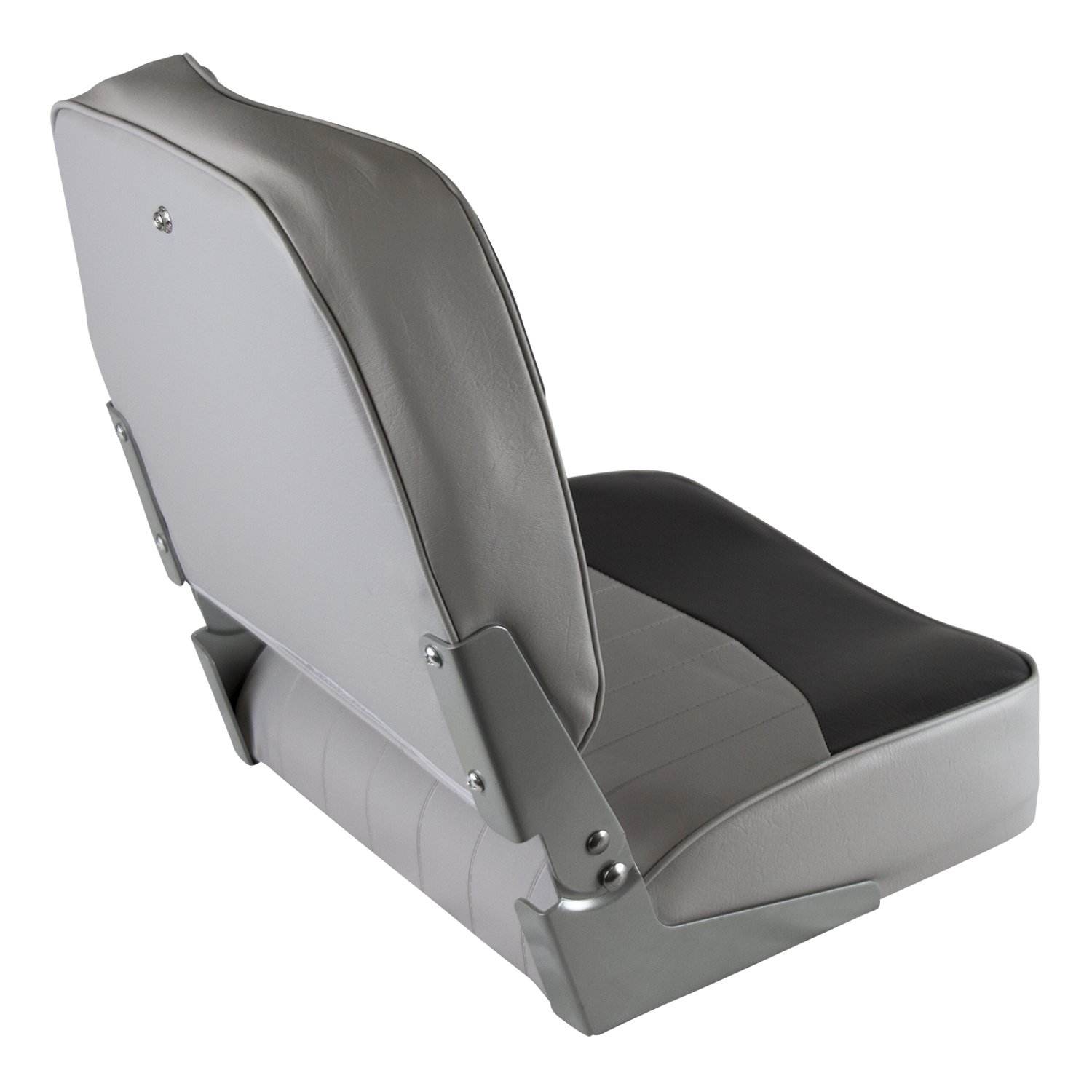 Wise 8WD734PLS-661 Low Back Boat Seat, Grey/Red by Wise (Image #2)