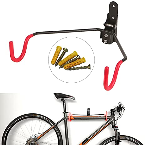 Bike Storage Hanger Hybike Wall Mount Foldable Bike Storage Hanger Rack  Garage Wall Mount Bike Steel