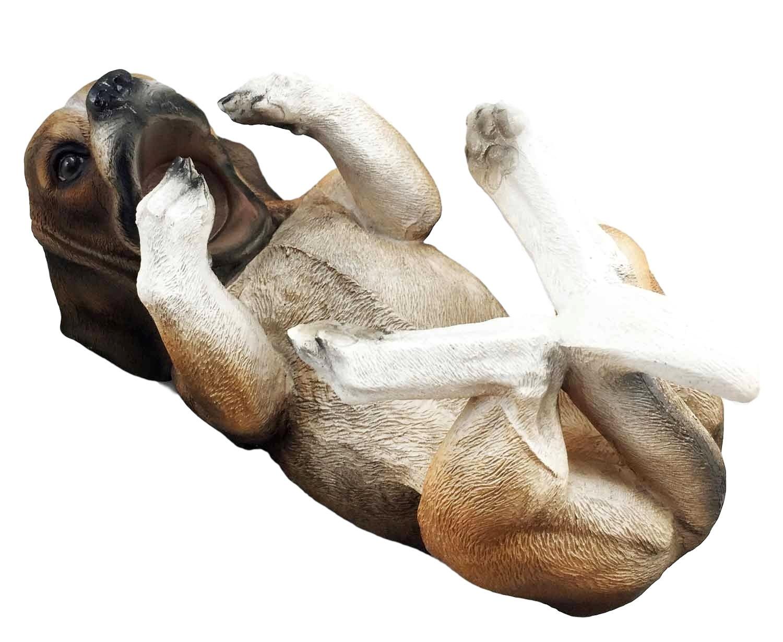 Canine Pedigree Cute Tri Color Beagle Hound Dog Wine Oil Bottle Holder Figurine Kitchen