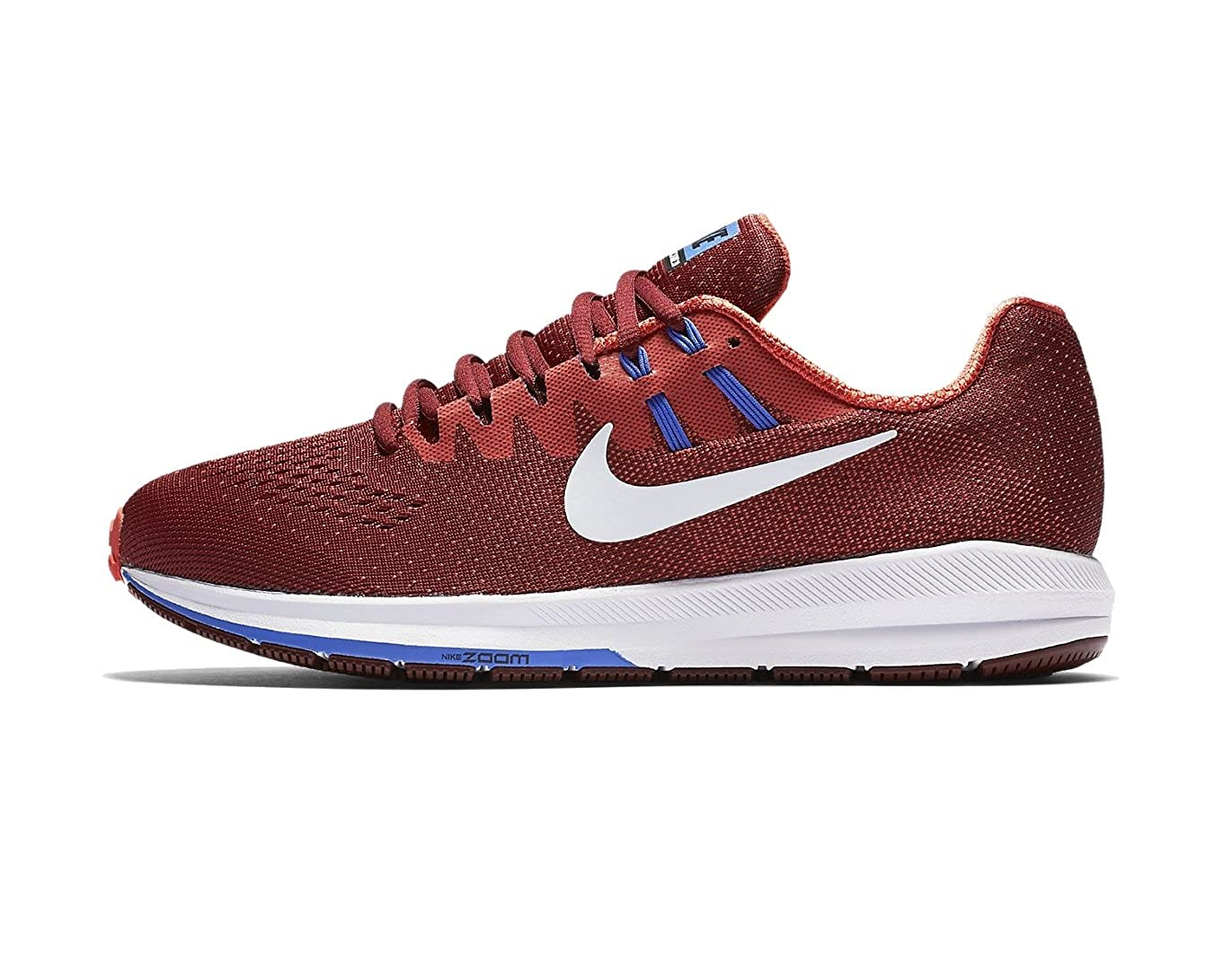 various colors 6568d 7c90c Nike Men's Air Zoom Structure 20 Running Shoe, Red (11.5)