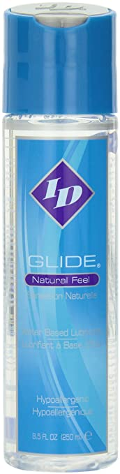amazon com id glide 8 5 fl oz natural feel water based personal