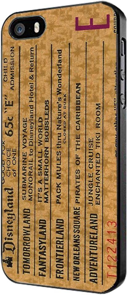 disneyland ticket 2 iphone case
