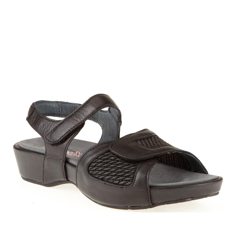 Propet Women's Khloe Sandal B008DC8VHG 6 2E US|Black