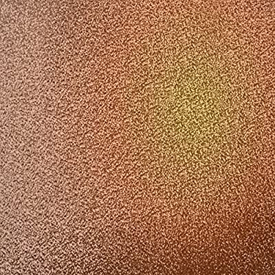 MURIVA 701374 GLITTER BROWN TEXTURED SPARKLE WALLPAPER COPPER