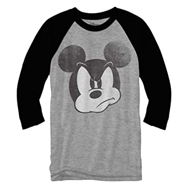 004a072d Amazon.com: Mad Mickey Mouse Raglan Style 3/4 Length Sleeve Classic Vintage  Disneyland Funny Adult Mens Graphic Shirt: Clothing