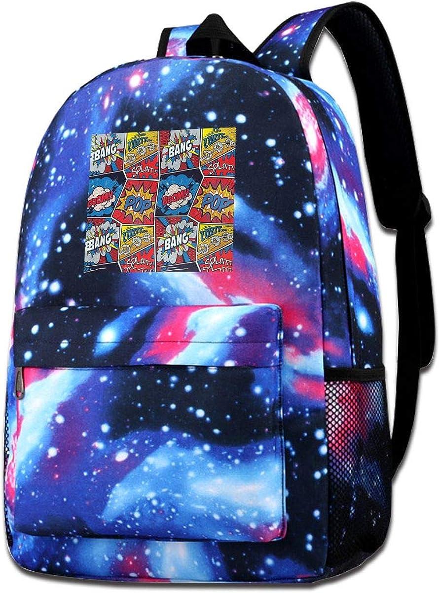 XNTWJMV Galaxy - Bolsa de hombro estampada, diseño de cómic de superhéroe, para padres, hermanos y hijo, regalo de moda, casual, para niños y niñas