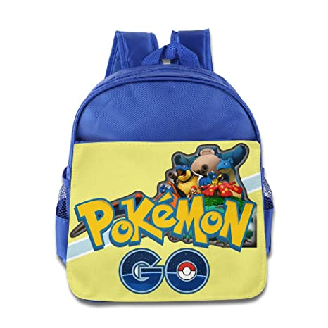 Niños Pokemon Go escuela mochila