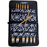 ChiaoGoo Spin Interchangeable Knitting Needle Set Complete: Size US 2 (2.75mm) - Size US 15 (10mm) 2500-C