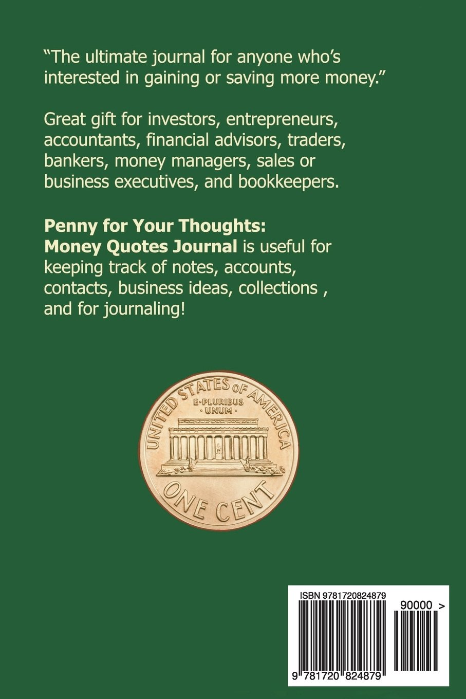Penny For Your Thoughts Money Quotes Journal Motivating And