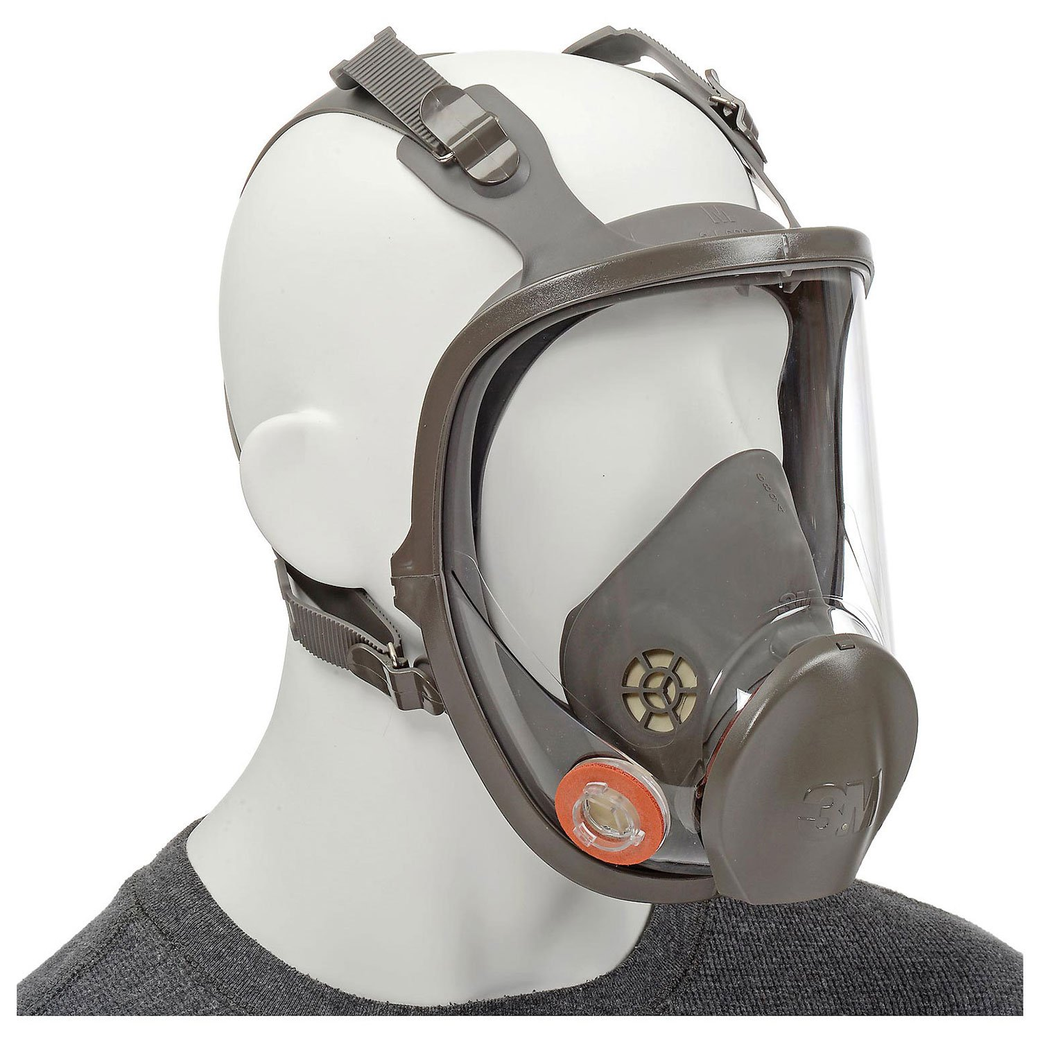 3M 6800 Reusable Respirator, Full Facepiece, Medium, 1 Each by 3M