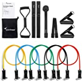 Resistance Bands, Sportneer Resistant Exercise Band Set for Home Gym Workout, with Door Anchor, Ankle Strap, Chest Expander and Carry Bag, 13pcs