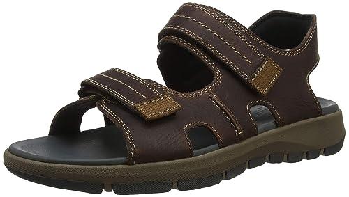 a0fe7dbc Clarks Brixby Shore, Sandalia con Pulsera para Hombre: Amazon.es: Zapatos y  complementos