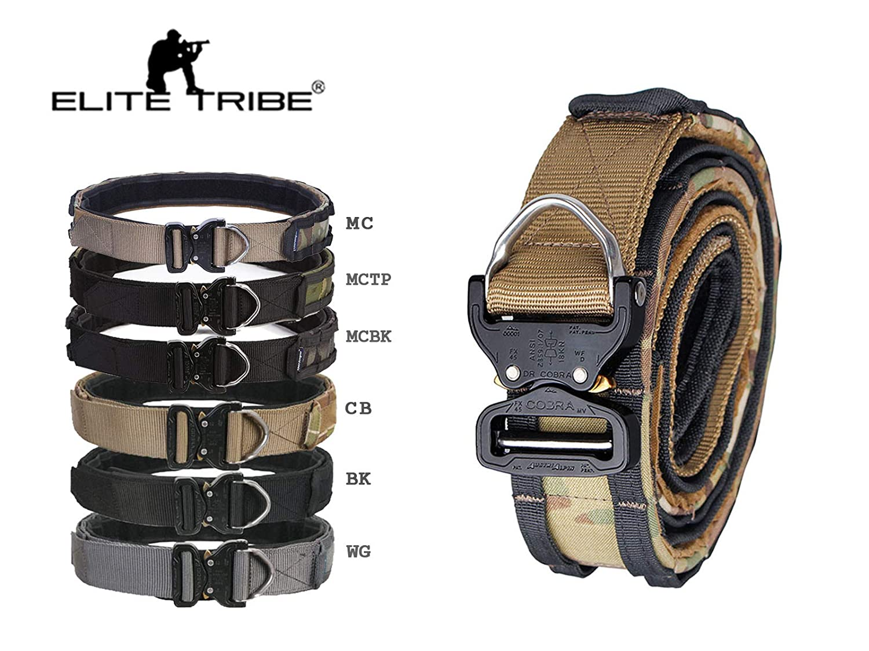 Amazon com : Elite Tribe Cobra Riggers Belt D-Ring Molle