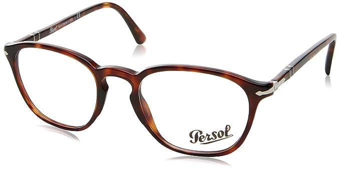 Persol Po3176v 24 Cal.50 Occhiale Da Vista Havana Eyeglasses Sehbrille Uomo Man 2DS80pPfM