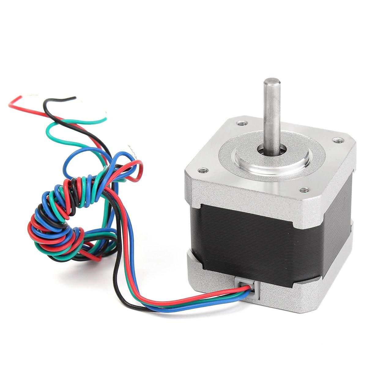 Ils - Motor de Pasos DE 1.8 Grados 2 Fases 4-Hilos para la ...