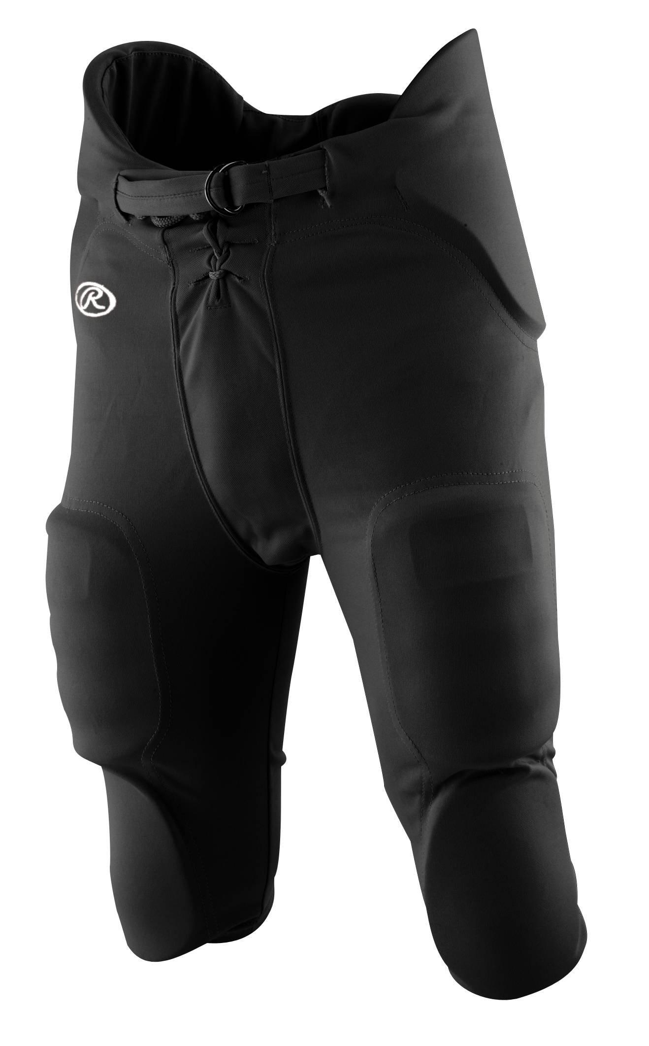 Rawlings Men's F3500P Football Pant (Black, X-Small)