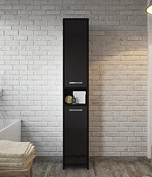 Amazon.de: Freistehend Badezimmer Schrank hoch Schrank 168 cm ...