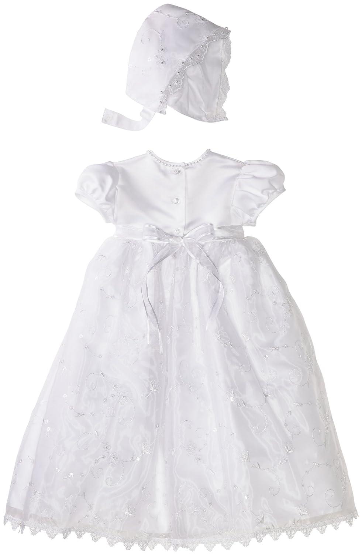 amazon com lauren madison baby girls u0027 christening gown infant