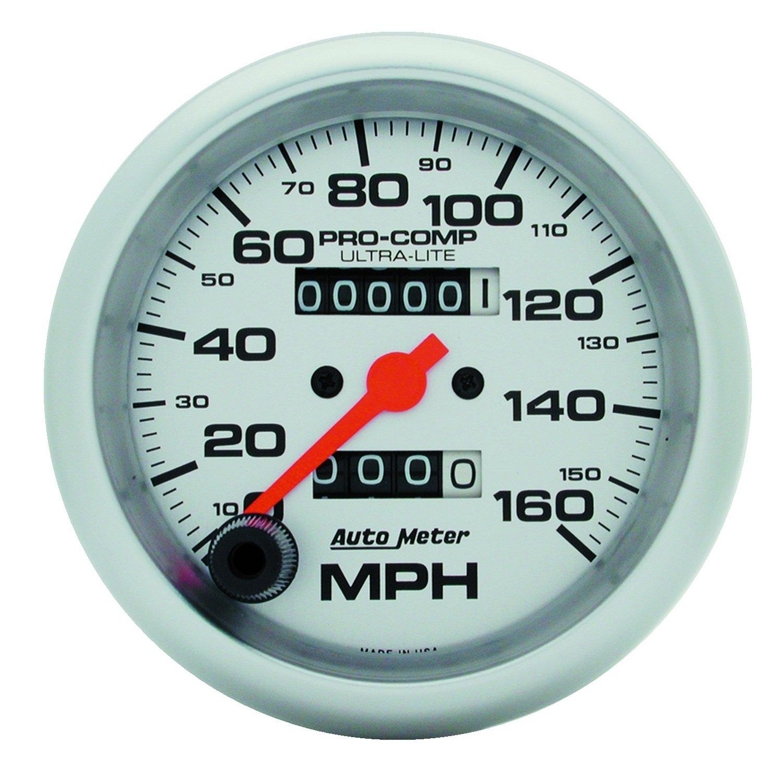 Auto Meter 4493 Ultra-Lite In-Dash Mechanical Speedometer by AUTO METER