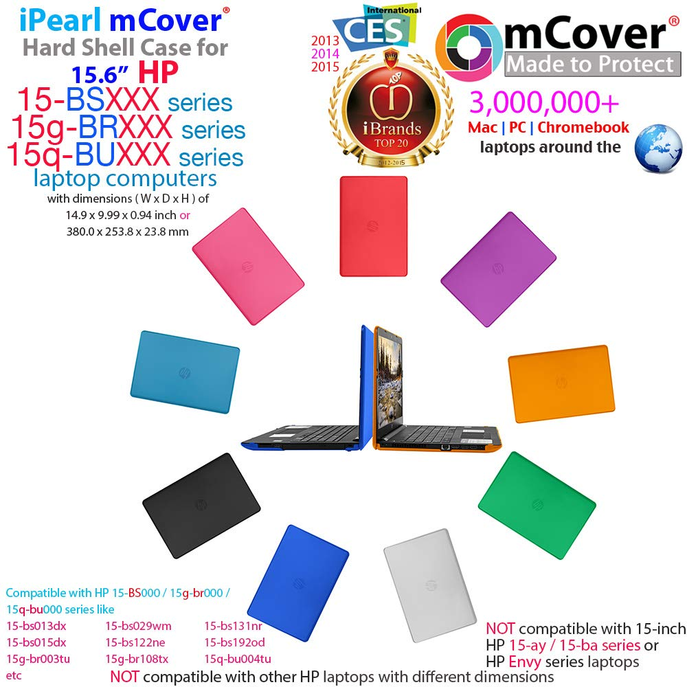 "NOT MCover Hard Shell Case For 15.6/"" HP 15-bsXXX Series 15-bs000 To 15-bs999"