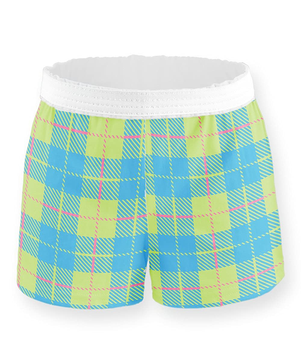 Soffe Girls Novelty Printed Authentic Short 2 Pack Bundle
