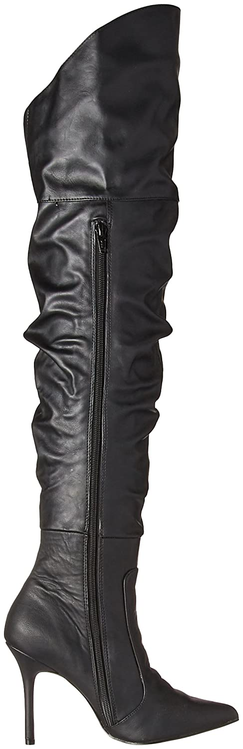 0b078a0e528 Pleaser Women s Classique-3011 Over The Knee Boot  Amazon.co.uk  Shoes    Bags